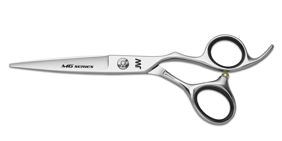 JW M6 Series JW, M6, Series, Silver, Chrome, Offset, Shear, Righty, Right, Handed, Permanent, Finger, Rest